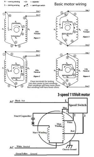 How to wire 3speed fan switch