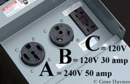 120 volt rv wiring
