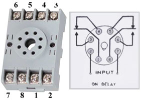 How to wire Pin timers