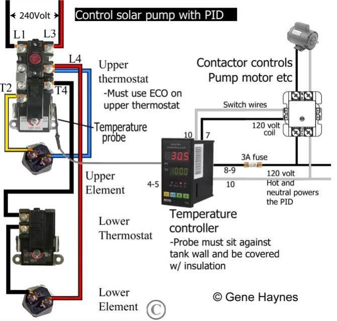hot water heater relay wiring diagram  rj25 phone jack