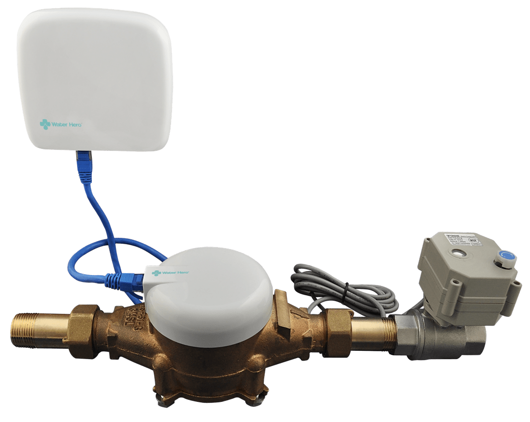 Automatic Water Shut Off Valve & Water Monitoring System