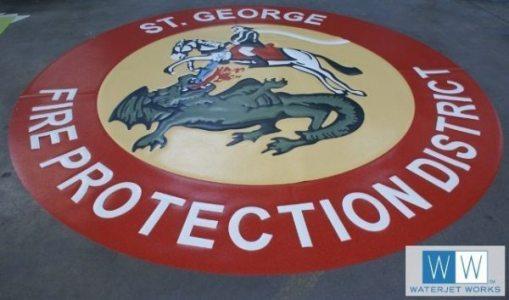 2014 St George Fire Protection Parish Logo