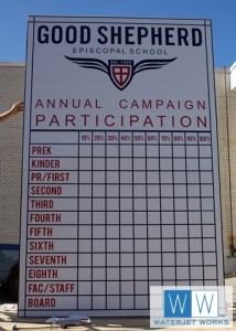 2015 Good Shepherd Campaign Sign