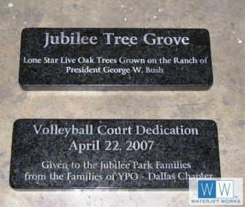 2010 Jubilee Park Dedication