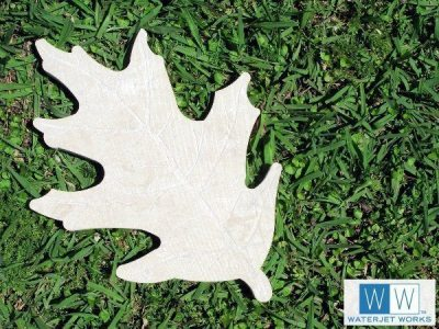 Oak Leaf Stepping Stone
