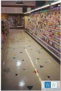 Albertson's Grocery Aisle