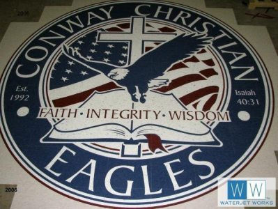 2008 Conway Christian High School Logo