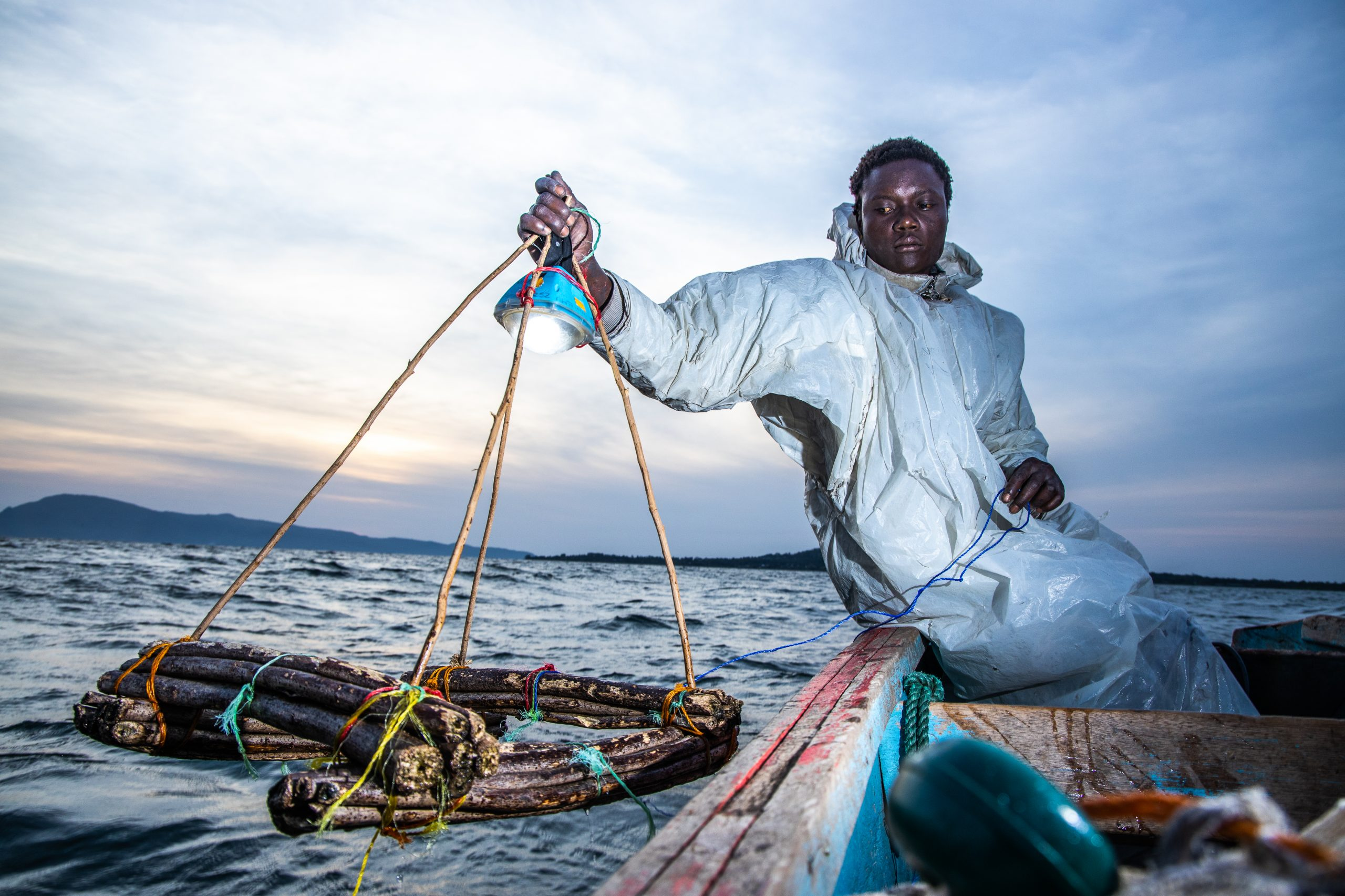 Powering the 'Ghost Town' of Rusinga Island: Fishermen in Lake Victoria, Kenya take action on climate change