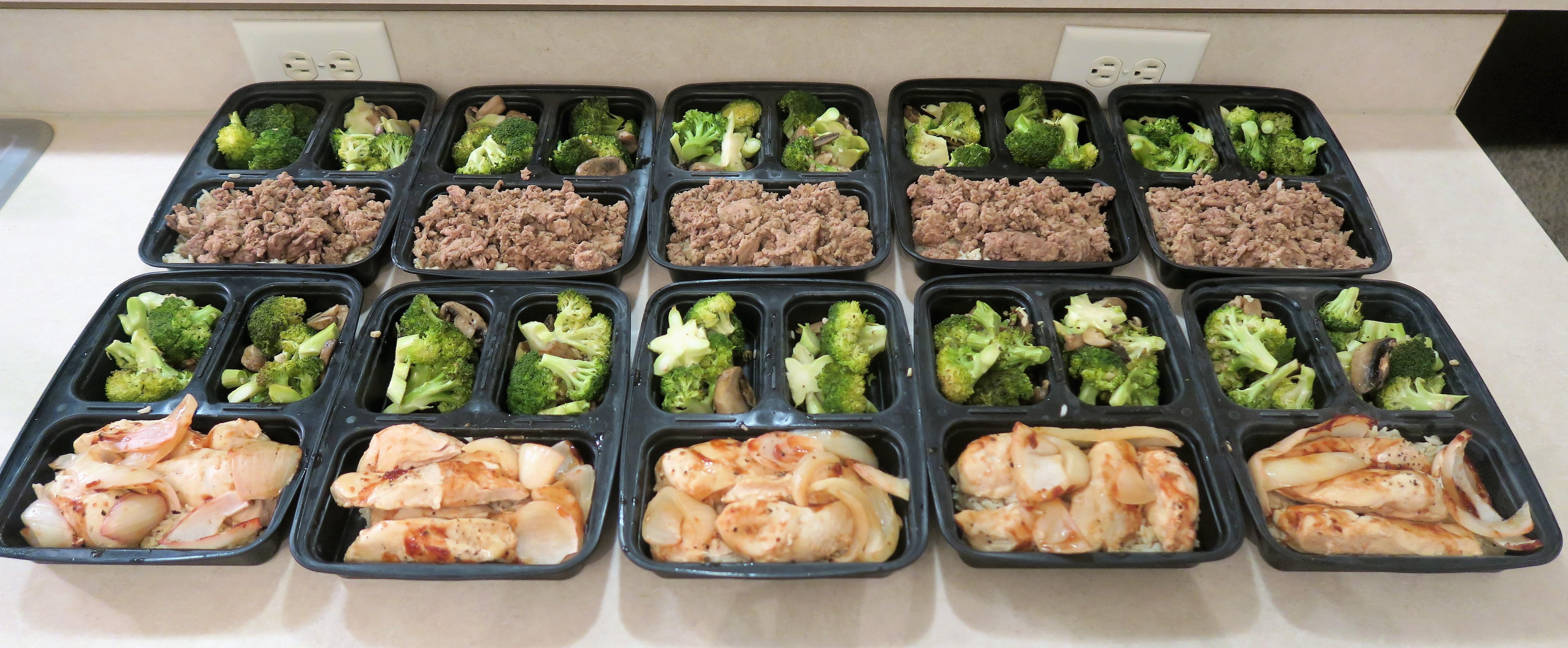My Weekly Meal Prep 21