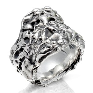 Ring The Rock aus Silber