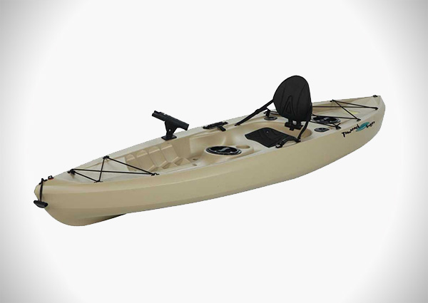 Lifetime Fishing Kayak with Paddle