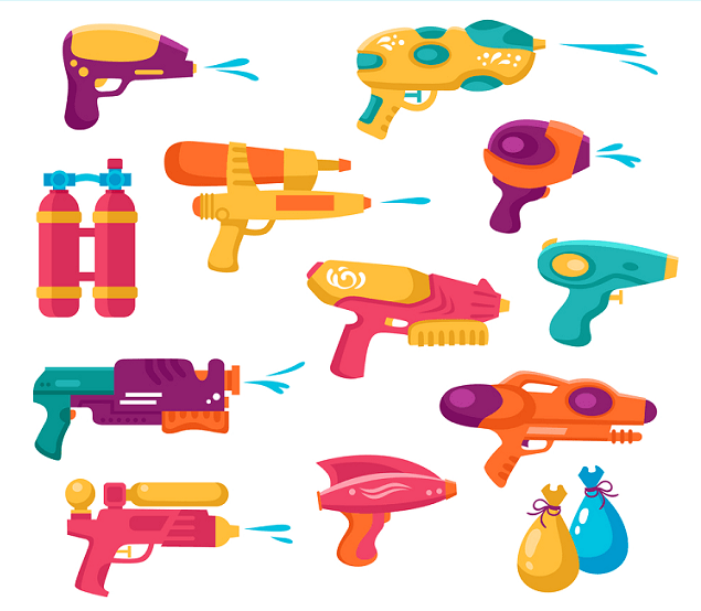Types of water gun