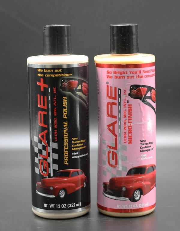 GLARE® PLUS PROFESSIONAL POLISH & GLARE® MICRO-FINISH Combination Pack
