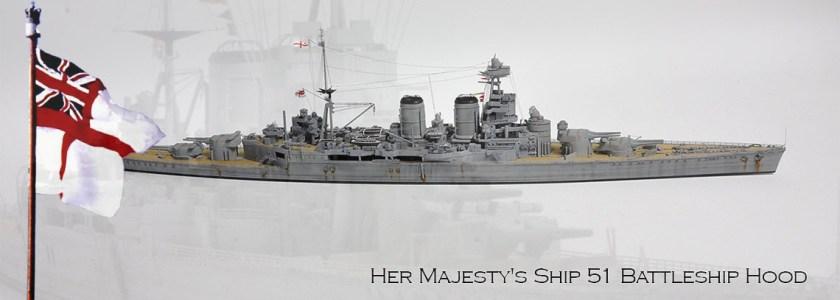 RN BB HMS Hood