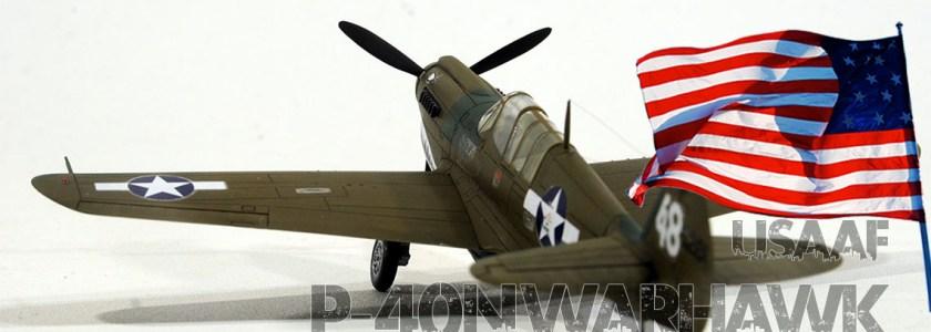 1/72 アメリカ陸軍 戦闘機 P-40N ウォーホーク