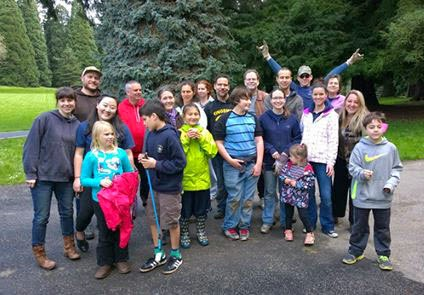 Volunteer group at 2014 Pier Park Pick-Up