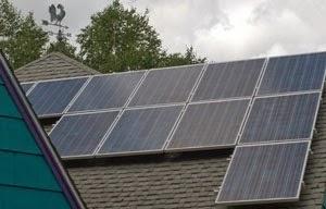 Solar panels at Waterlink Web