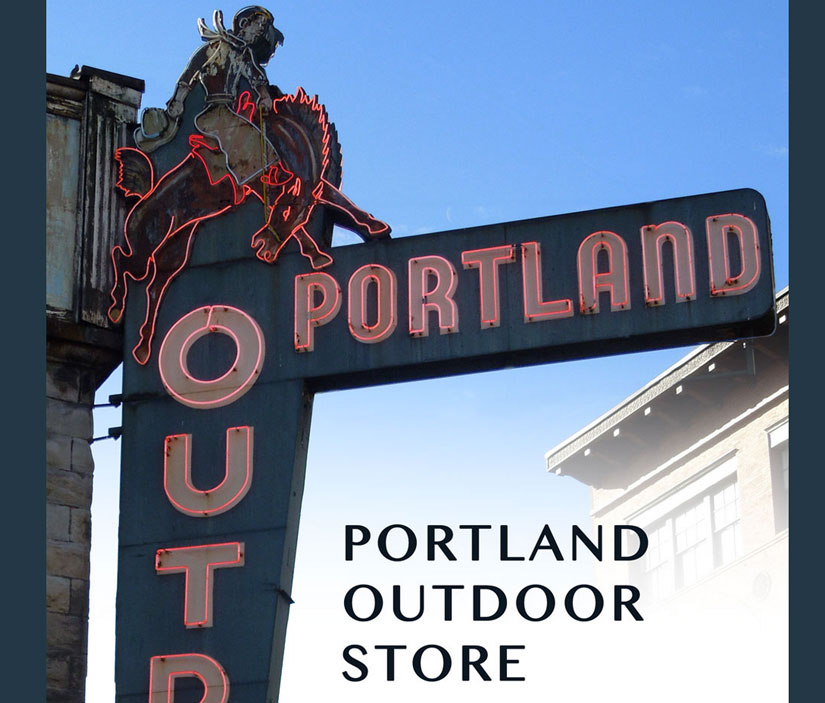 Portland Outdoor Store sign