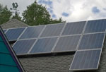 Solar panels at Waterlink Web