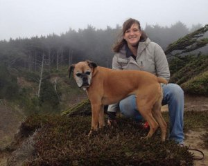 Lucie and Alexis at the Southern Oregon Coast