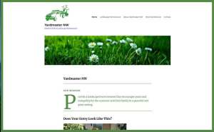 Yardmaster NW website screenshot