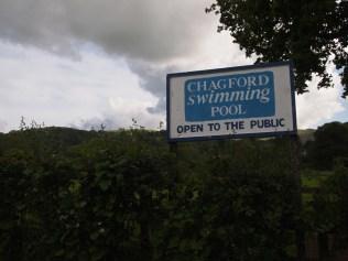 At Chagford Pool