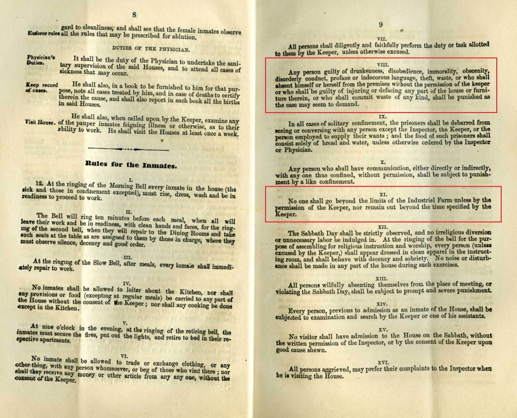 House of Industry and Refuge By-law 157; Source: Region of Waterloo Archives