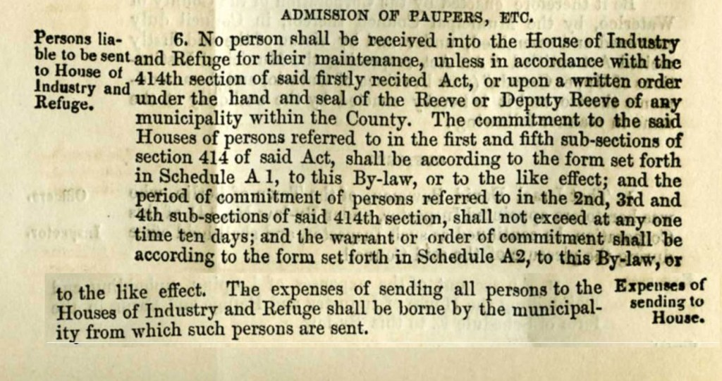 County of Waterloo By-Law 157; Source: Region of Waterloo Archives
