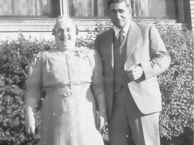 Edward and Edna Amos