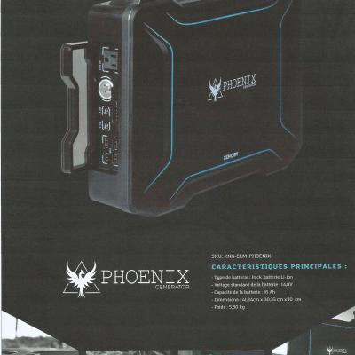 Générateur Phoenix solaire (neuf)