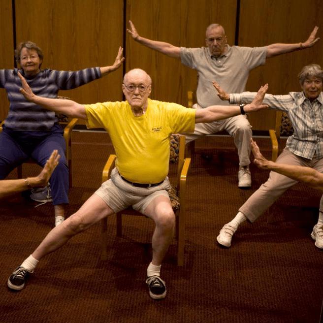 Senior Chair Yoga