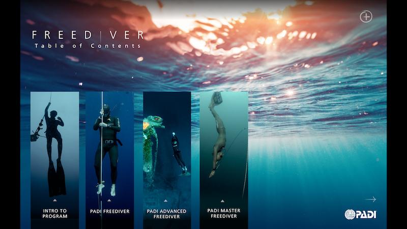 PADI Freediver Touch Explained
