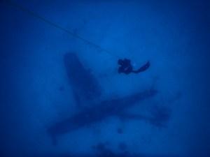 Freediving Plane Wrecks in the Tropics