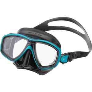 TUSA Freedom CEOS M212 Black Green Diving Mask