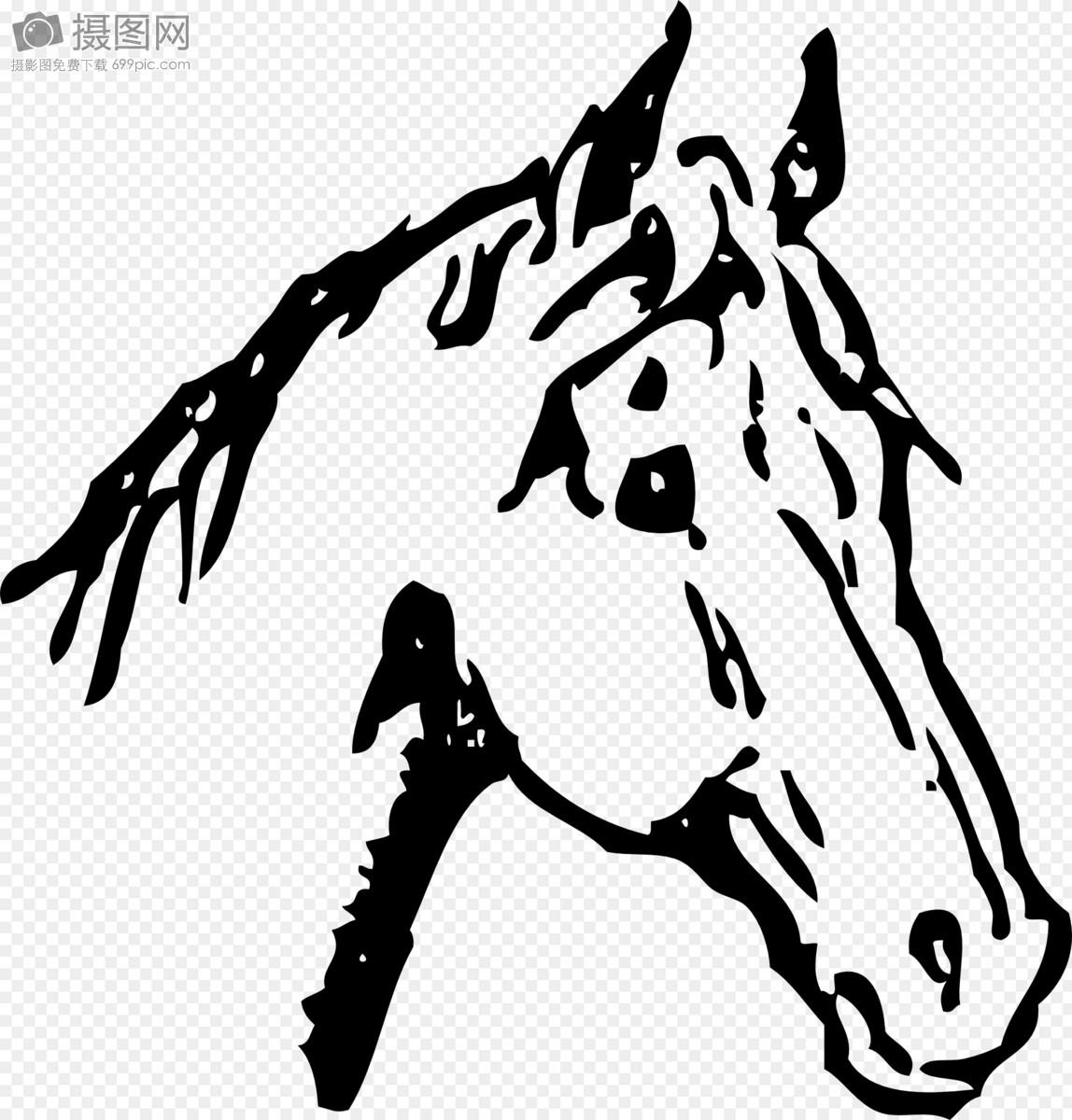 Kumpulan Contoh Gambar Sketsa Kepala Kuda