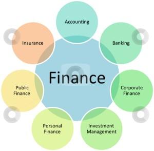 Finance classification business diagram stock photo