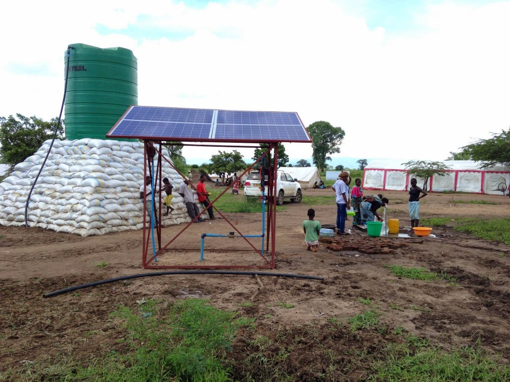 LWTS Set Up in Malawi Flooding Disaster
