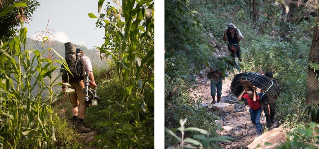 Climbing up to Keura | Nepal Earthquake