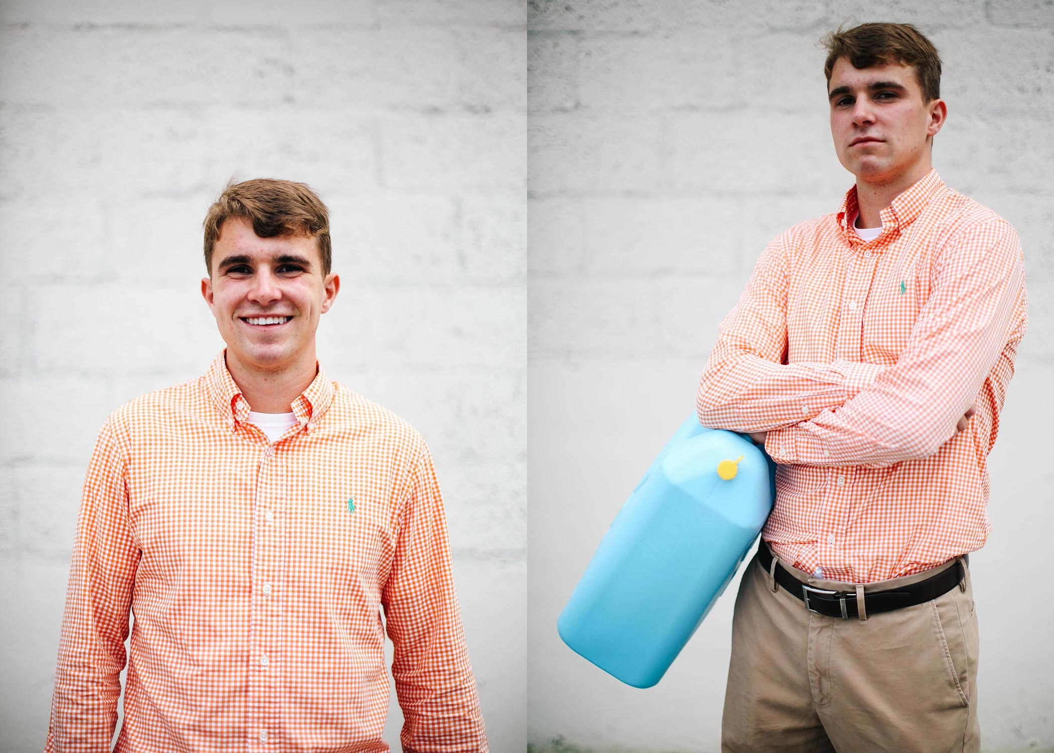 Zach worked as an intern for Water Mission.