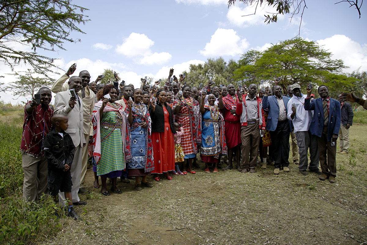Messenger Audio Bibles in Kenya, provided by In Touch Ministries