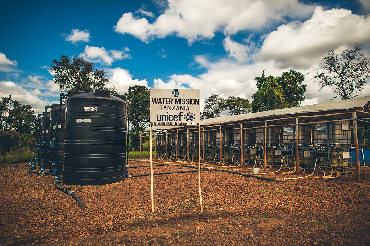 Safe water systems in Nyarugusu