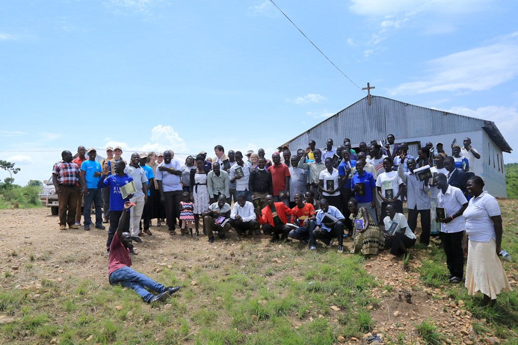 Participants receive Bibles!