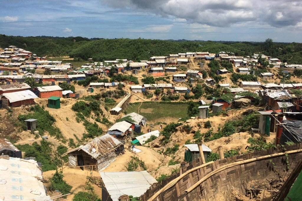 Refugee settlements in Cox's Bazaar, Bangladesh