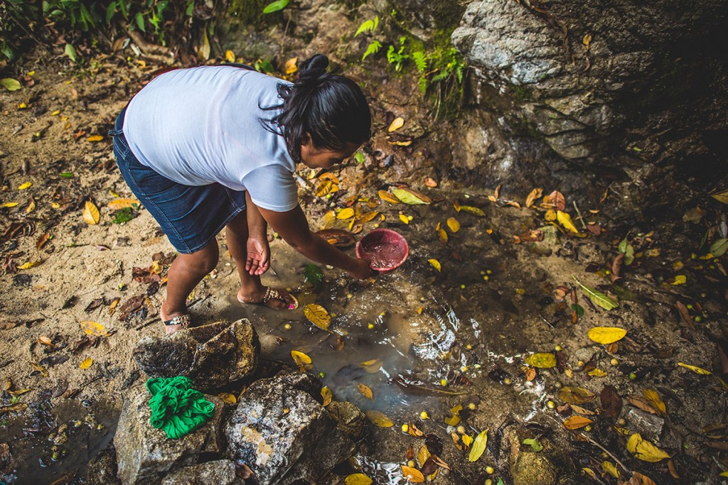 Dirty water in Honduras
