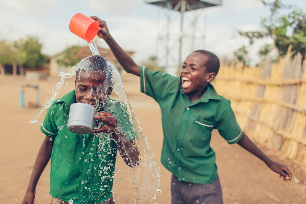 Safe water in Malawi