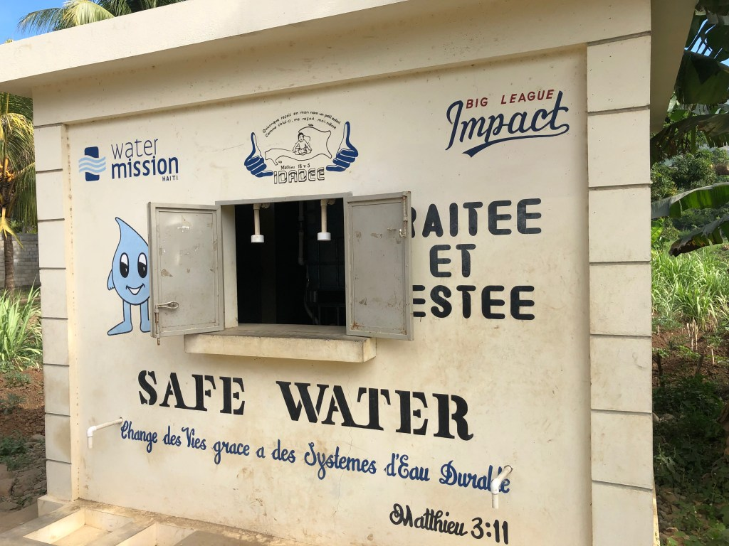 Water Mission safe water system