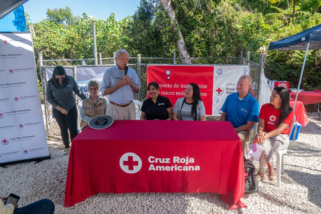 Water Mission and the Red Cross