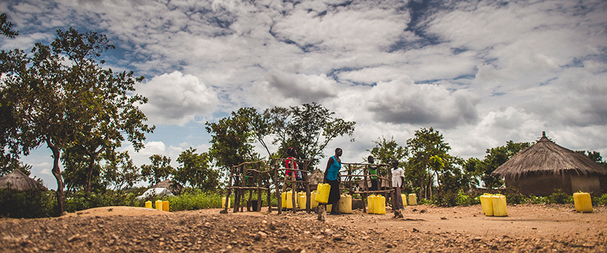 Safe water for Bidi Bidi refugee settlement