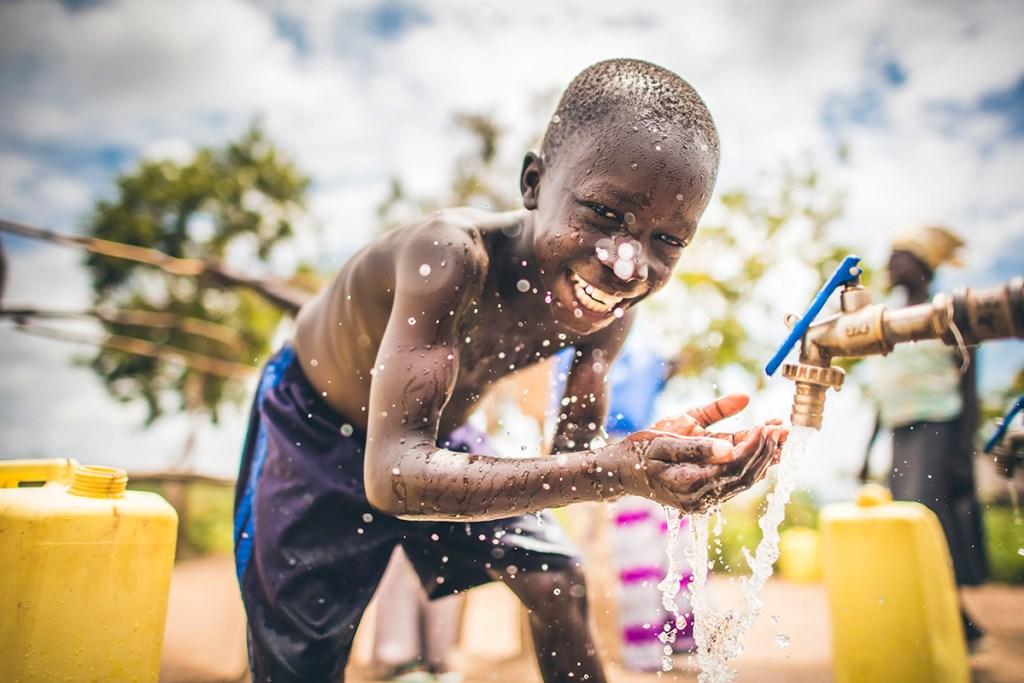 Safe water in Bidi Bidi refugee settlement