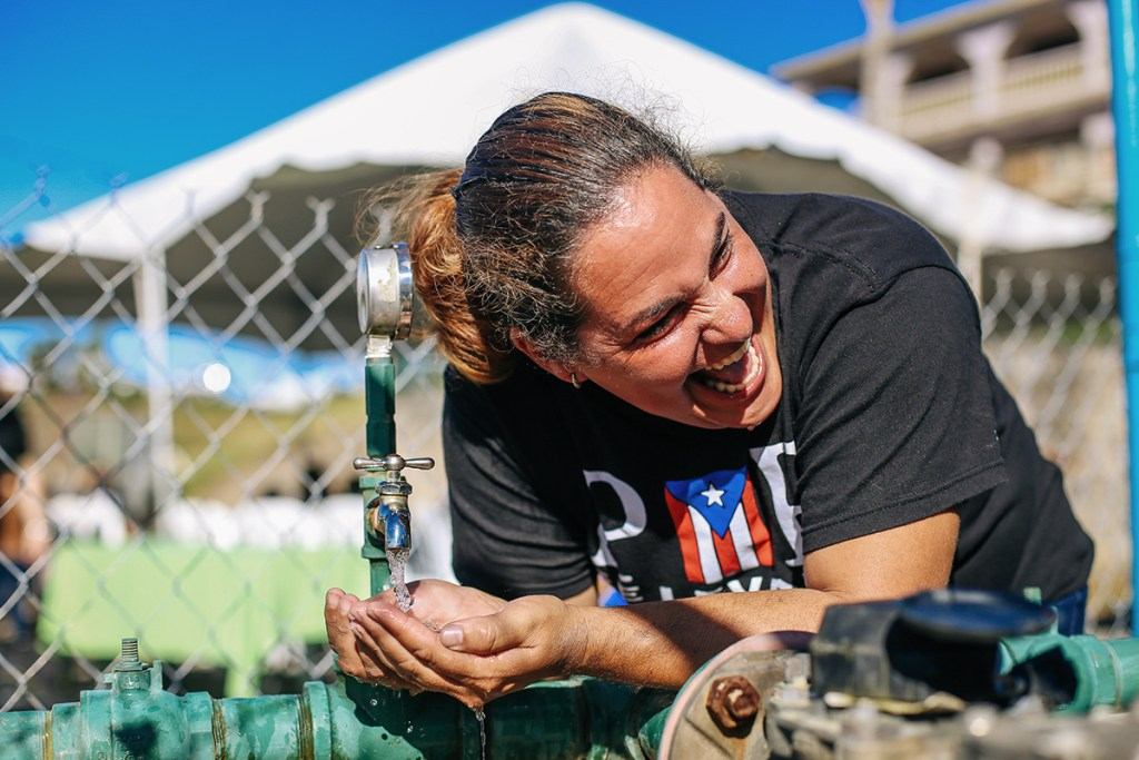 Safe water in Puerto Rico